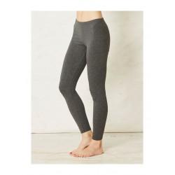Leggings Bambou et coton bio gris