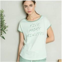 tee-shirt nuit 100% Coton bio