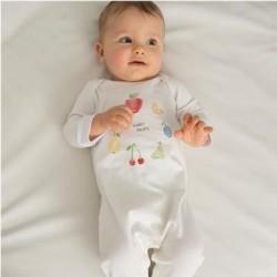 Pyjama grenouillère 100% Coton bio