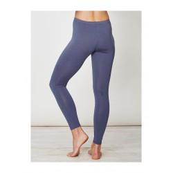 Leggings Bambou et coton bio gris bleu