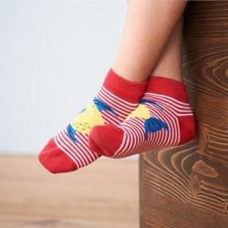 Lot 2 paires de socquettes enfants coton bio