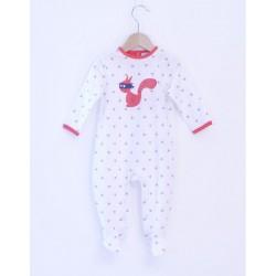 Pyjama grenouillère coton bio