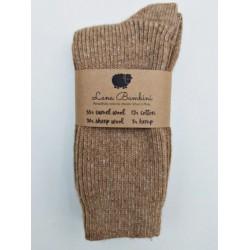 chaussette laine de chameau lana bambini