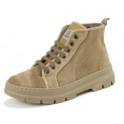 Chaussures coton bio montantes