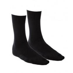 Lot 2 paires de chaussettes noires coton bio