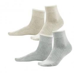 Lot 2 paires de chaussettes  de yoga coton bio