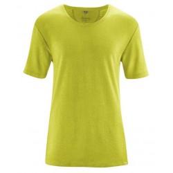 Tee-shirt Chanvre & Coton bio vert anis