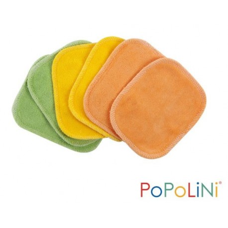 Lingettes cosmétiques 100% coton bio lot de 6