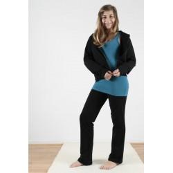 Pantalon coton bio noir