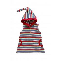 Robe tunique éponge bébé