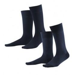 Lot 2 paires de chaussettes coton bio