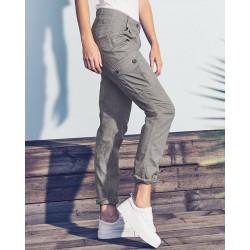 Pantalon Cargo femme Chanvre & Coton bio