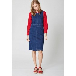 "Robe ""Elaine"" en jeans coton bio"