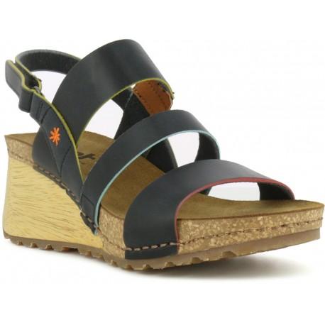 Sandales compensées Art modèle Borne