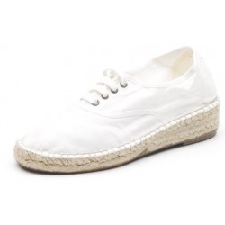 Chaussures type espadrilles Natural World coton bio