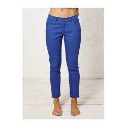 Pantalon taille haute Coton bio