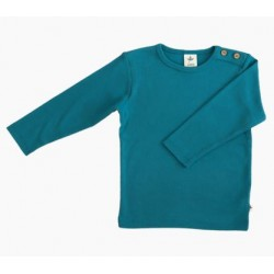 Sweat enfant coton bio bleu