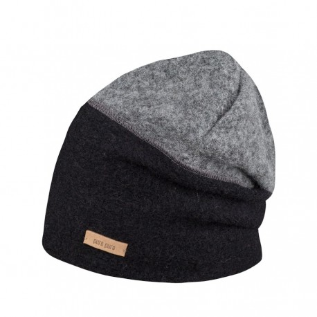 Bonnet laine et coton bio
