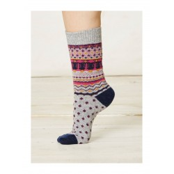 Chaussettes coton bio et laine 37 à 41