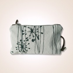 Pochette green Flower