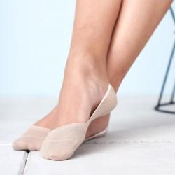 Lot 2 paires protèges-pieds coton bio