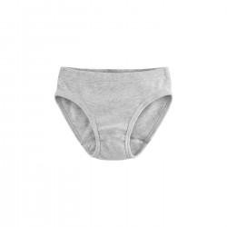 Culotte fille 100% coton bio grise