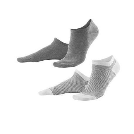Lot 2 paires de socquettes coton bio