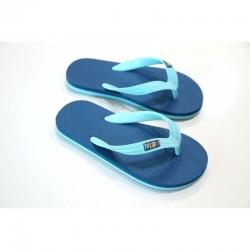 """AJ_Tongs enfants """"Tahiti"""" bleu/turquoise"""