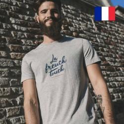 "AJ_T-shirt ""Philibert"" La French Touch gris"