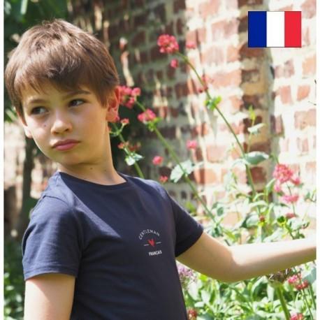 "AJ_Tee-shirt ""Paul"" Gentleman Français 100% coton"