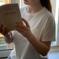 "AJ_Tee-shirt 100% coton ""Pauline"" écru"
