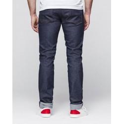 Jeans homme ajusté super denim flex indigo