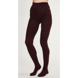 AJ_Collants bambou & coton bio prune