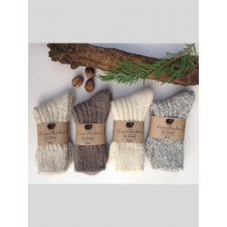 Chaussettes laine & alpaga