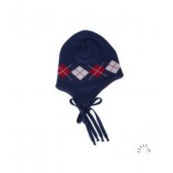 Bonnet jacquard