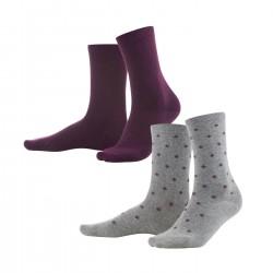 Lot 2 paires de chaussettes...