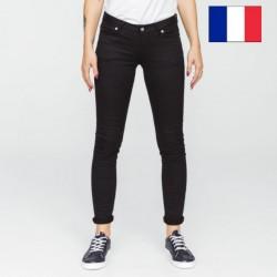 Jeans femme skinny noir
