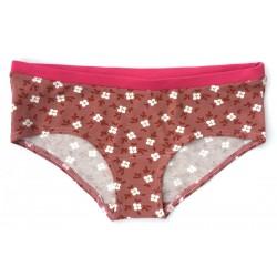"Slip boxer coton bio ""Pink..."