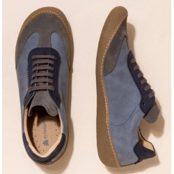 """Chaussures """"Pawikan"""" bleu..."""