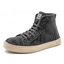 Chaussures montantes coton...