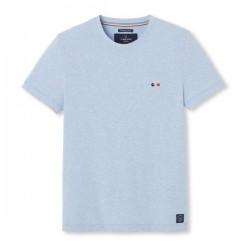 """Tee-shirt coton """"Vélo"""" bleu..."""