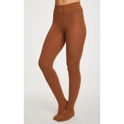"""Collants bambou """"Toffee brown"""""""