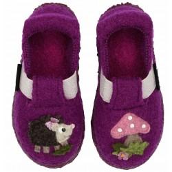 Chaussons enfants en laine...