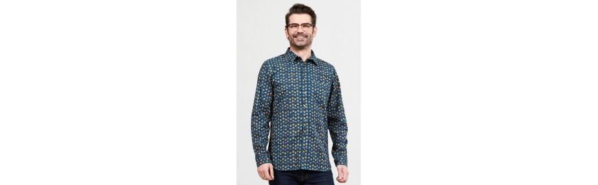 Chemises écologiques et éthiques pour hommes