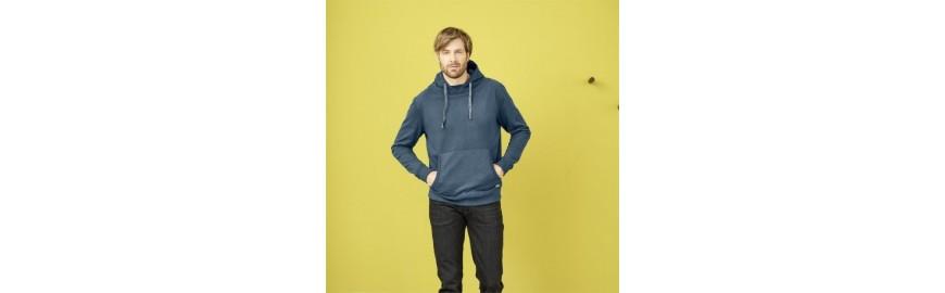 Pulls, Sweats et vestes pour hommes. Mode éthique
