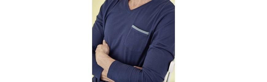 Pyjamas pour homme en coton bio- Mode éthique