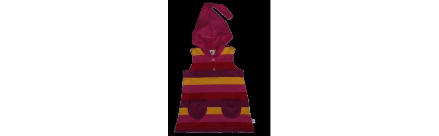 Robes, tuniques et jupes éthiques et écologiques pour enfants