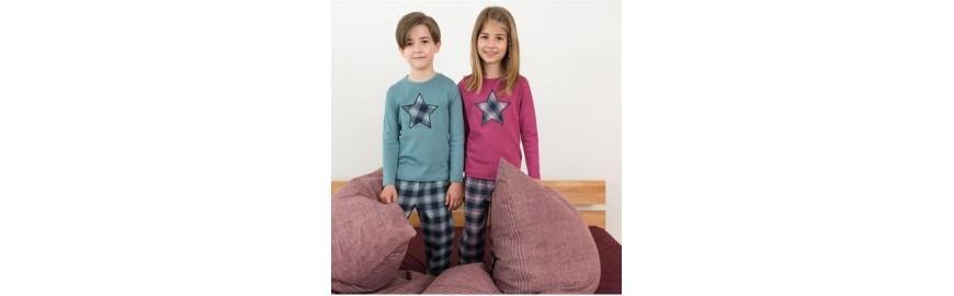 Pyjamas, chemises de nuit enfants en coton bio